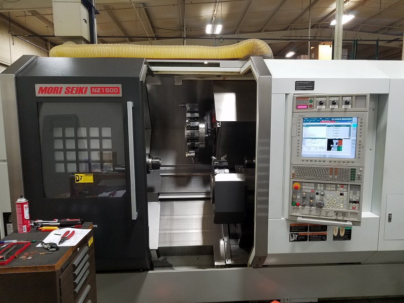 Details about USED DMG MORI SEIKI NZ-1500T2Y2 CNC LATHE 2010 Y-Axis Twin  Spindles Twin Turrets